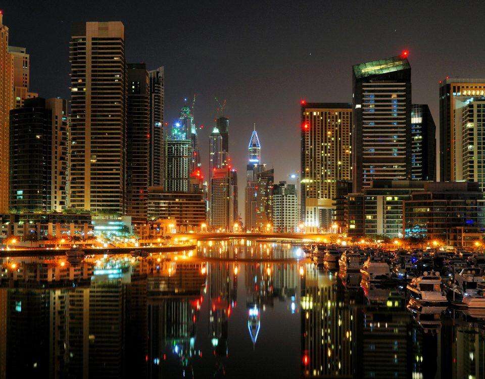 dubai-creek-at-night-uae